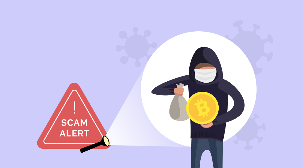 Beware Of COVID-19 Crypto Scams. Article by StealthEX.