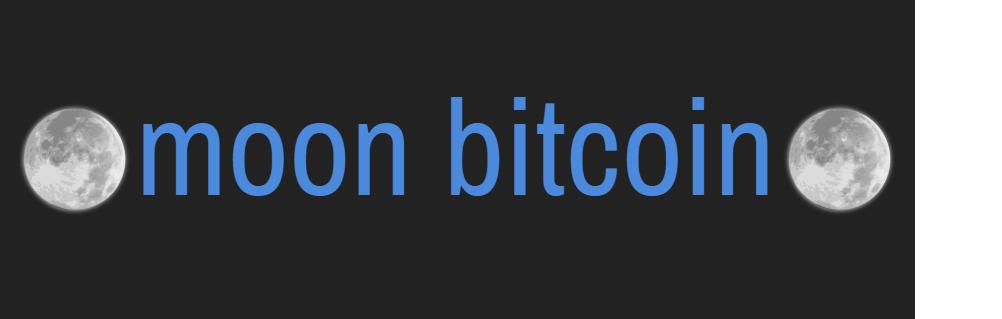 Moon Bitcoin StealthEX
