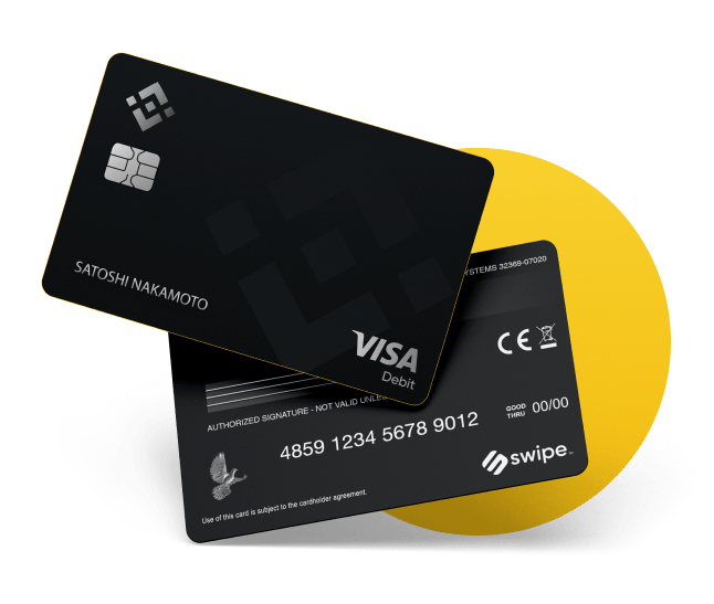 Cryptocurrency Adoption: A Breakthrough? Binance card. Article by StealthEX.