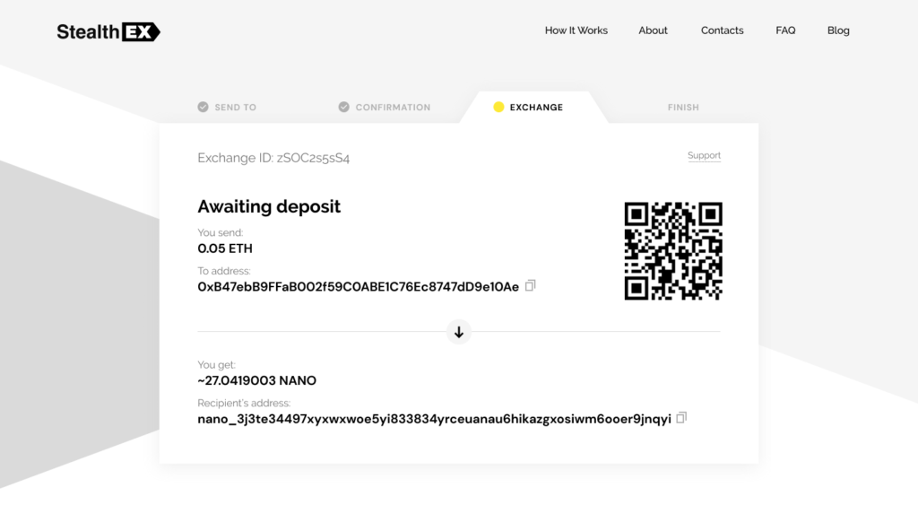 How To Buy Nano Cryptocurrency On StealthEX. Tutorial article. Awaiting