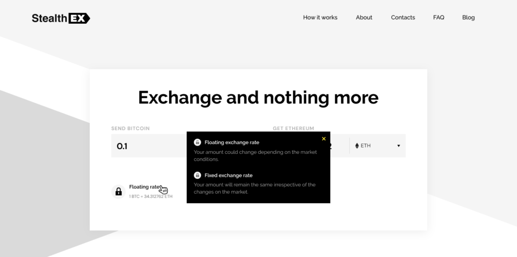 StealthEX Introduces Fixed Rate Exchanges!