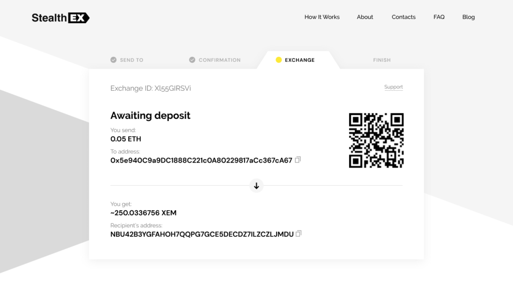How To Buy Nem Coin On StealthEX. Tutorial article.