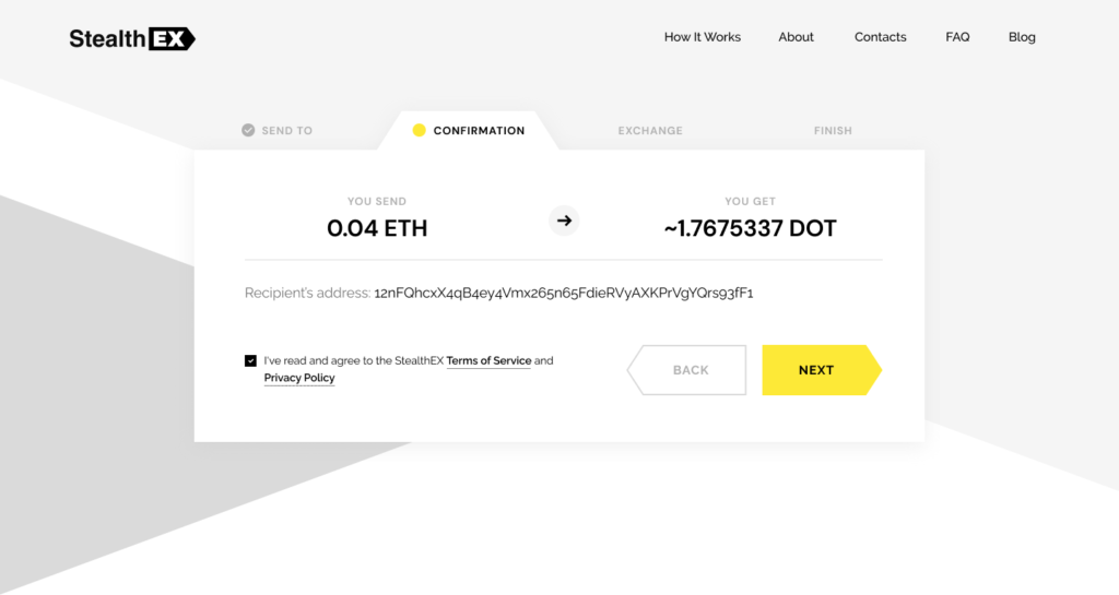 How To Buy Polkadot Coin. Article by StealthEX. Confirmation Exchange