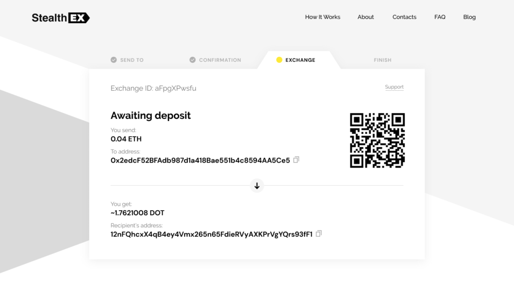 How To Buy Polkadot Coin. Article by StealthEX. Exchange Awaiting