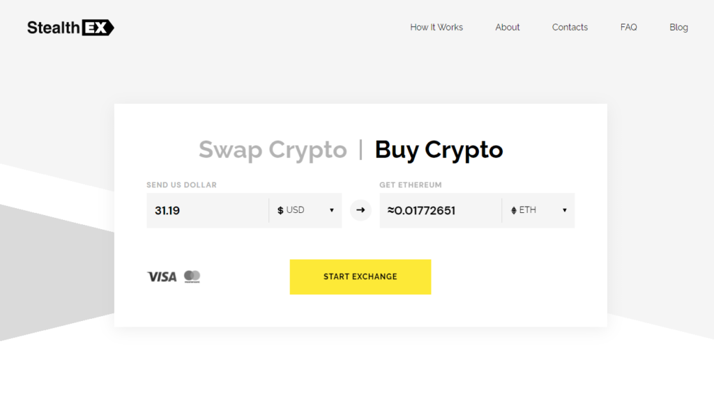 How to buy crypto with credit card? Article by StealthEX