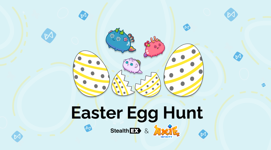 Easter Egg Hunt 2021. Article by StealthEX.