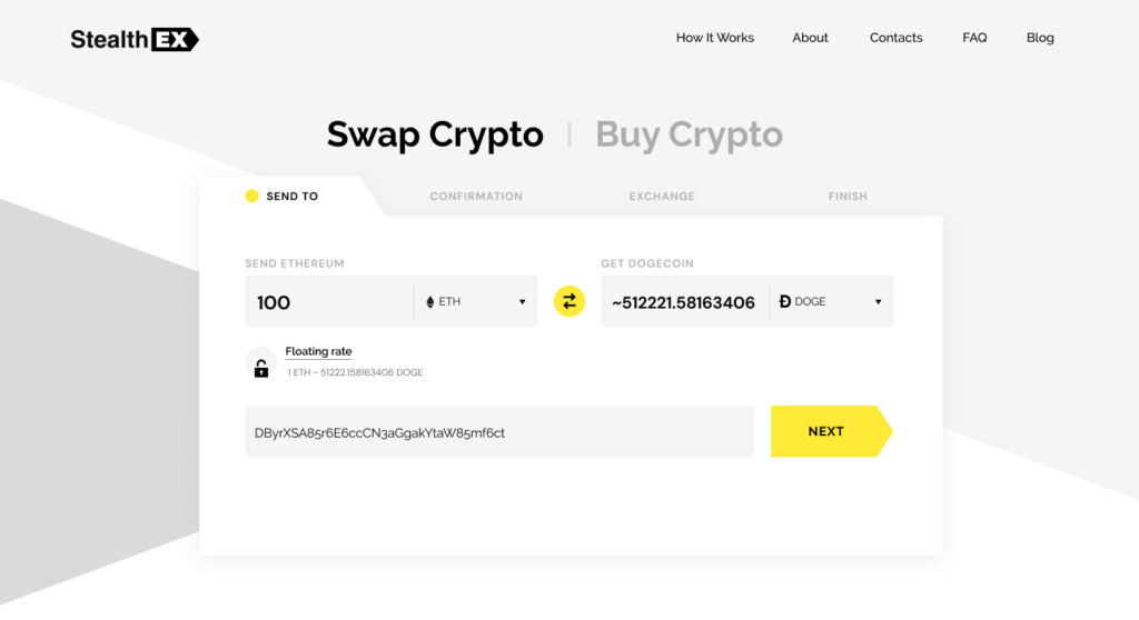 Where can I buy DOGE coin. Article by StealthEX