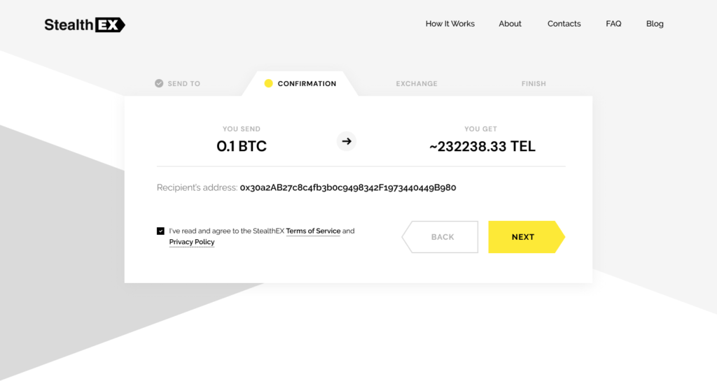 Where To Buy Telcoin Cry. pto. Article by StealthEX. Confirmation Exchange