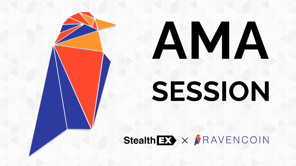 Ravencoin Crypto AMA. Article by StealthEX