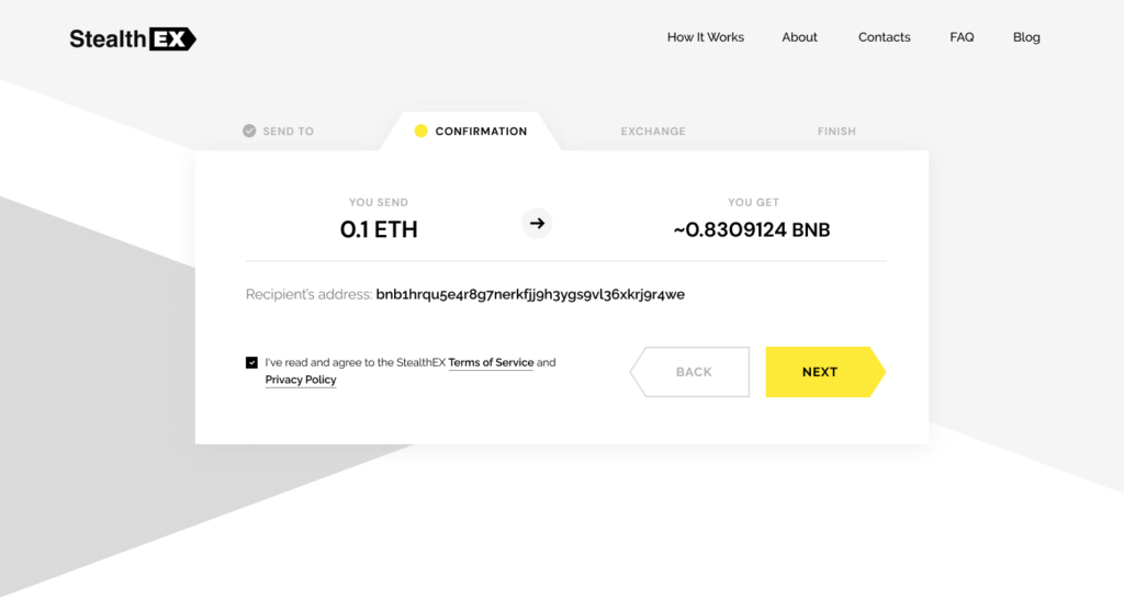 How To Buy BNB Without Binance Confirmation Exchange