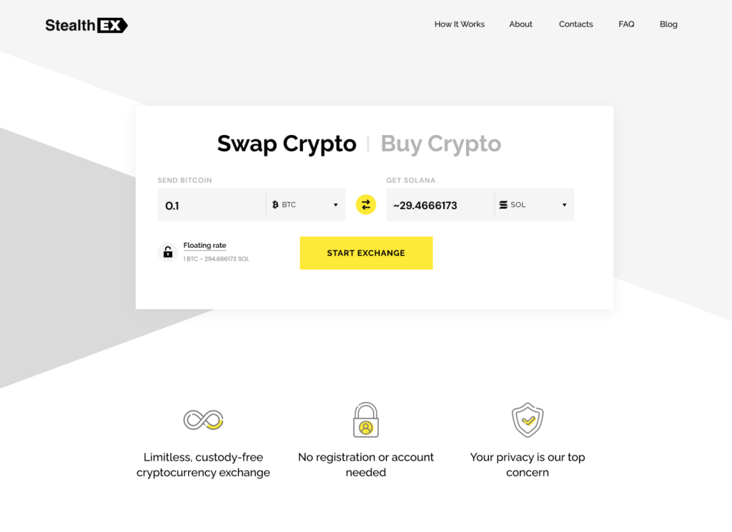 How To Buy Solana Coin? Article by StealthEX Home_new